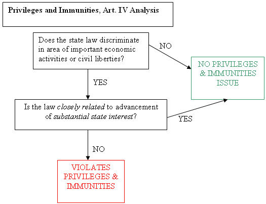 What is the Privileges and Immunities Clause?