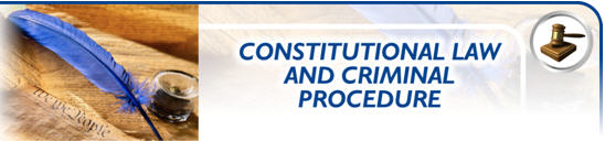 Constitutional Law & Criminal Procedure